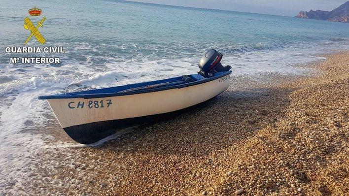 Localizada en Formentera una patera y seis ocupantes, dos de ellos menores