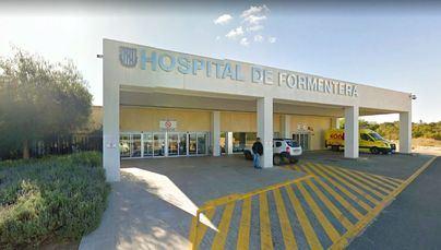 Herido grave un joven de 24 años en choque frontal entre un coche y un camión en Formentera