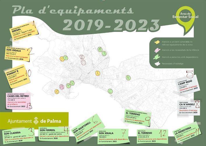 Cort anuncia 13 nuevos equipamientos sociales hasta 2023