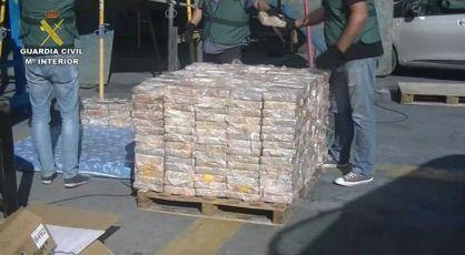 """Incinerados en Son Reus 600 kilos de cocaína incautada en el marco de la operación """"RABBIT"""""""