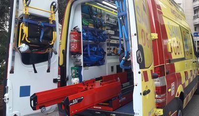 Dos heridos en un grave accidente en la Carretera Palma-Sóller