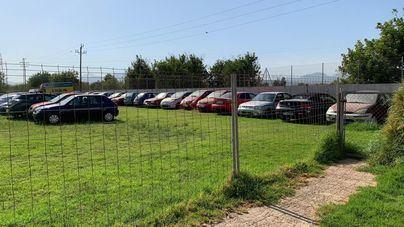 La Policía Local amplía a las pistas de la unidad canina el depósito de coches de Son Toëlls