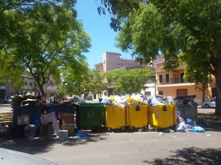 El comercio tilda de 'irresponsable' y 'desastre turístico' la huelga de basuras en Mallorca