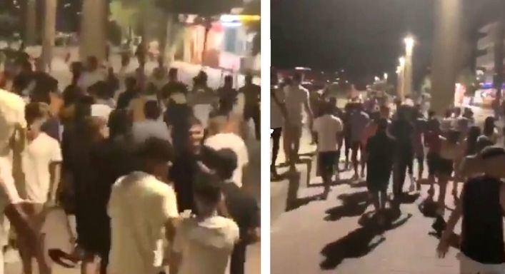 Detenidos tres implicados en la paliza a un joven en ses Fontanelles