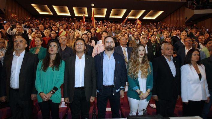 Abascal respalda a Vox Baleares y denuncia un 'intento de voladura' del partido