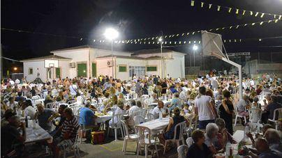 Tremponada de las fiestas de Santo Domingo des Llombards en Santanyí.