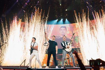 Concierto de los Jonas Brothers en Miami.