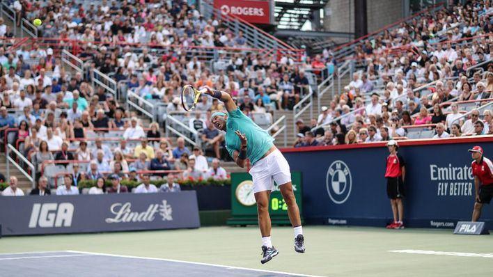 Nadal se planta en las semifinales del torneo de Montreal tras vencer a Fognini