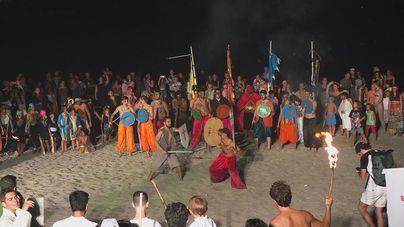 Moros y cristianos vuelven a enfrentarse en las arenas de Sant Elm
