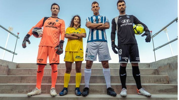 El Atlético Baleares estrena camiseta