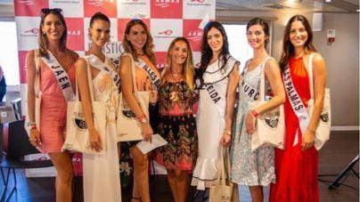 Oceánidas y Valerie Bisbal, protagonistas de la 'master class' del Grupo Armas Trasmediterránea a las candidatas a Miss World Spain