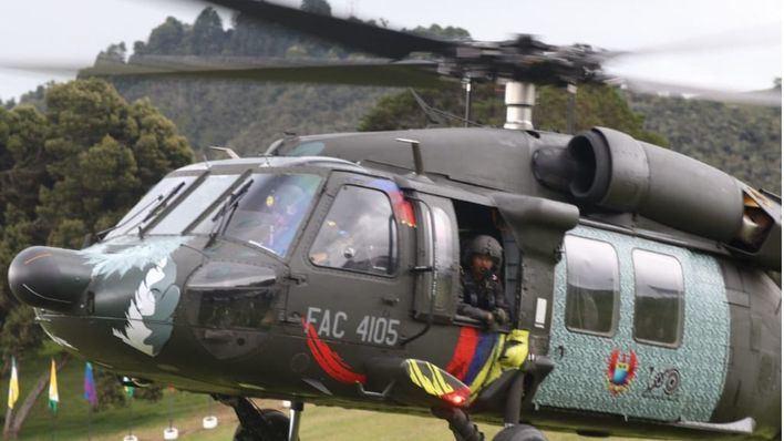 Mueren dos militares al caer de un helicóptero en Colombia