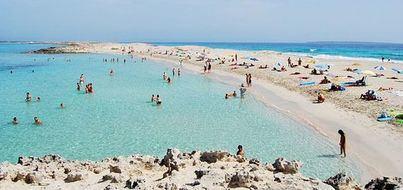 La ocupación hotelera en Formentera cae un 3,5 por ciento