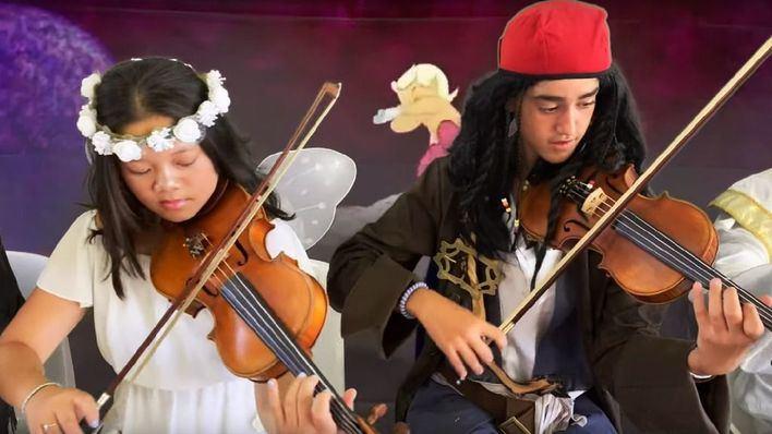 'Fantasía a la fresca' llena Andratx con las bandas sonoras de las películas infantiles