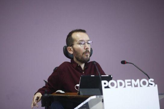 Echenique acusa al PSOE de dejarlo todo para el 'último minuto'