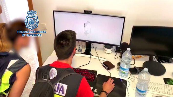 Cuatro detenidos en Mallorca por estafas por Internet y blanqueo de capitales