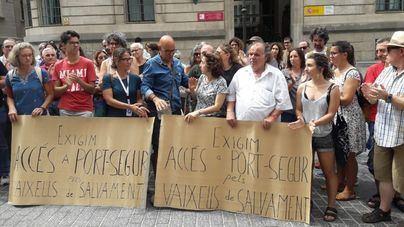 Manifestación en Palma para pedir