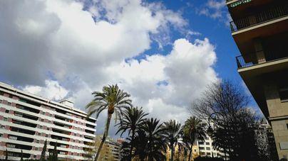 Miércoles nuboso en Baleares