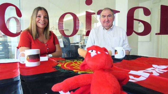 'Vermell i negre', la visión optimista y apasionada de la actualidad del RCD Mallorca
