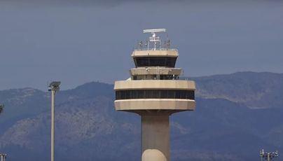 Enaire ha gestionado 186.800 vuelos en Palma hasta julio