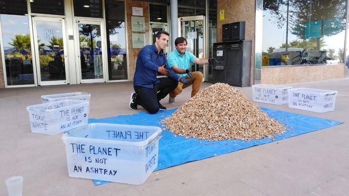 Prevén recoger 200.000 colillas en playas de Mallorca en diez días