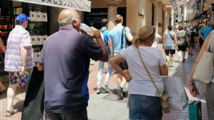 Vuelve a Mallorca el calor sofocante y el bochorno hasta el martes
