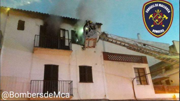 Noche de incendios en Mallorca