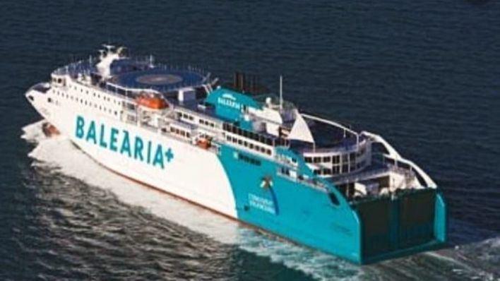 El 'Bahama Mama' cubrirá la ruta del ferry encallado