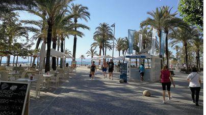 Un 91 por ciento de las plazas hoteleras de Playa de Palma se han ocupado en julio