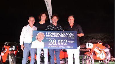El I Torneo de Golf Fundación Ángel Nieto recauda más de 28.000 euros