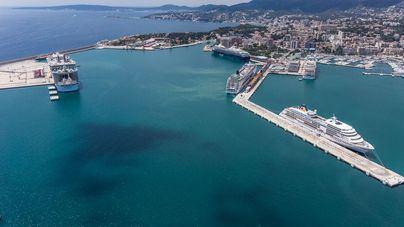 Los cruceros representan entre el seis y el ocho por cien del turismo de Mallorca