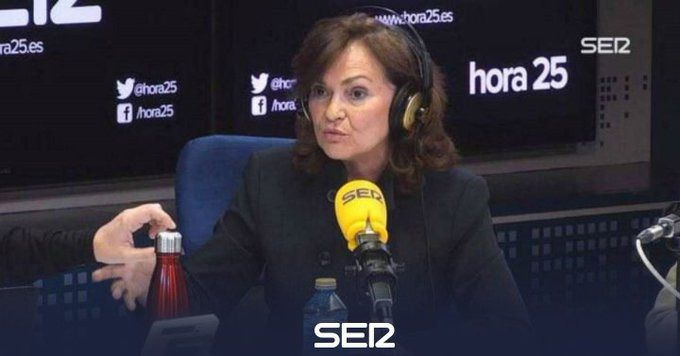 Carmen Calvo cuestiona al Open Arms: 'Pudo entrar en Malta y no quiso, se fue para Italia'