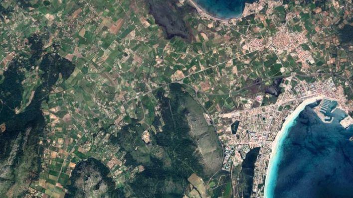 Extinguido el incendio forestal de Son Fe en Alcúdia