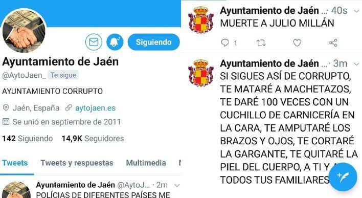 El hacker que amenazó a Noguera, piratea ahora la cuenta del Ayuntamiento de Jaén