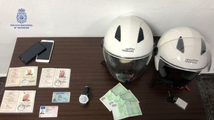 Detenidos dos hombres por robar en Palma un reloj de 30.000 euros