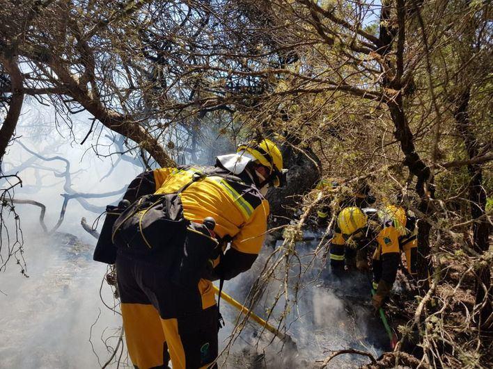 El fuego arrasa 57.697 hectáreas hasta principios de agosto