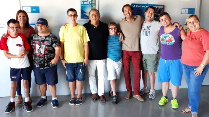 Ocho jóvenes con discapacidad intelectual de Calvià participan en un taller de ocio