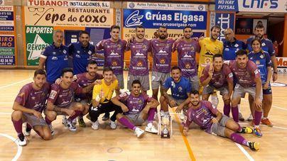 El Palma Futsal inicia su gira por Galicia venciendo a un combativo Noia