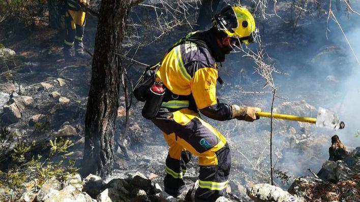 Segundo incendio forestal en Esporles esta semana