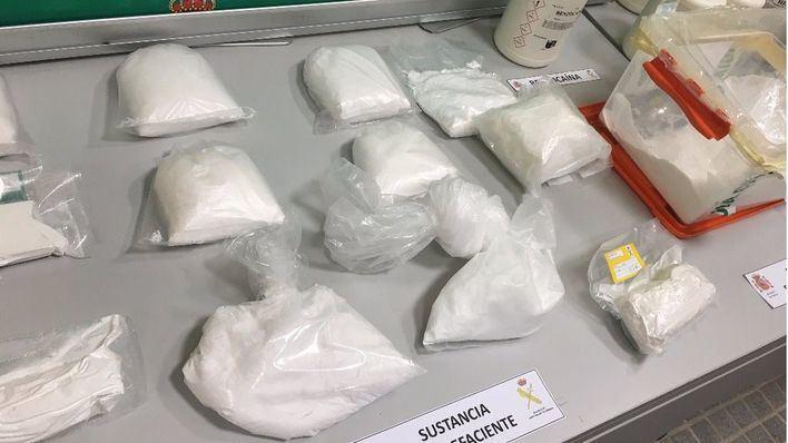 Los narcos detenidos introducían la cocaína en Mallorca escondida en camiones