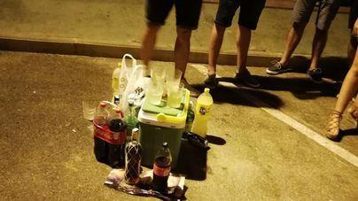 Interponen 36 denuncias en una semana por consumir alcohol en la calle en Ibiza