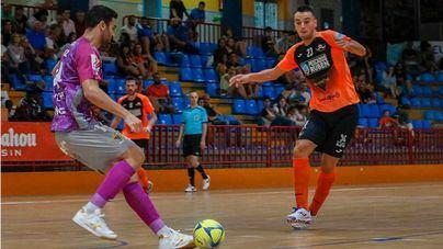 El Palma Futsal pasa con nota el primer test en Burela