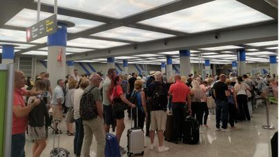 Comienza la huelga de controladores de pasaportes del aeropuerto de Palma