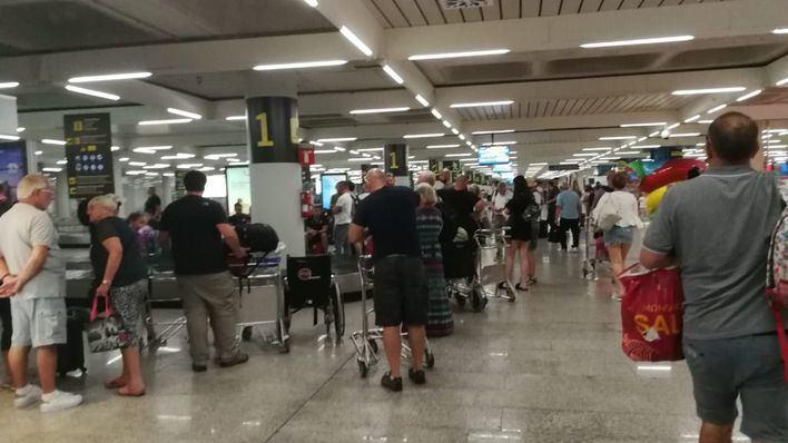 Normalidad en el aeropuerto de Palma pese a la huelga de controladores de pasaportes