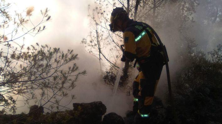Tercer incendio forestal en Esporles en una semana