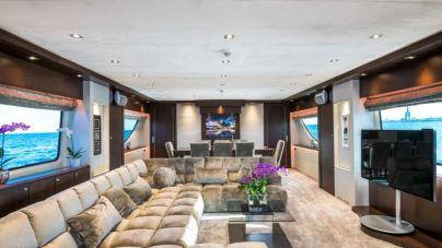 El 'D'Angleterre', un yate de lujo en alquiler por 63.000 euros a la semana