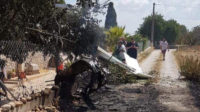 Tragedia en Mallorca: siete muertos al estrellarse un helicóptero y un ultraligero