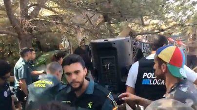 Exigen aumentar el plus de insularidad de la Guardia Civil tras los altercados de la rave en Ibiza