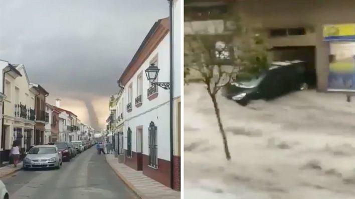 Lluvias torrenciales y 26.000 rayos en la Península