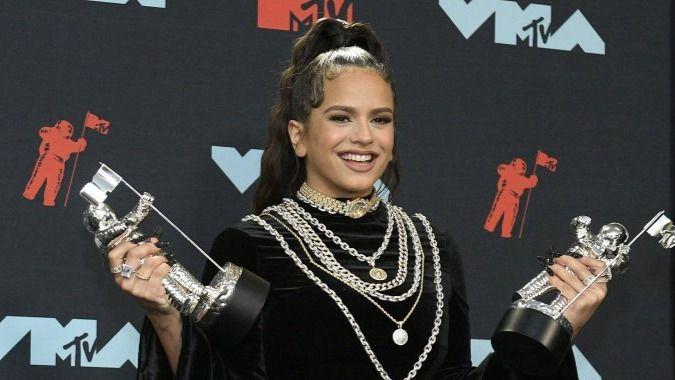 Rosalía, la primera española en ganar un MTV Music Awards